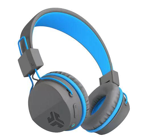 wireless headphones - light blue