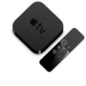 Apple TV 32GB 4K HD Media Streamer Black